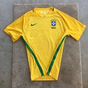 Nike Authentic Brazil Jersey 2016